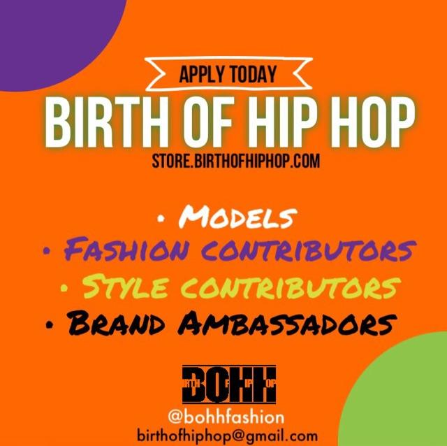 apply today birth of hip hop