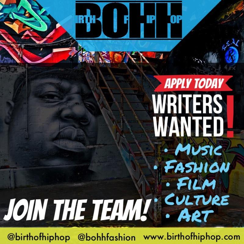 birth of hip hop writers wanted