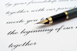 Calligraphy-Writing