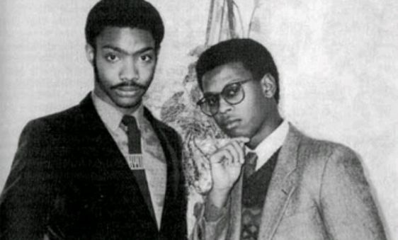 """Dr. Jeckyll & Mr. Hyde, 1980s hip-hop group consisting of Andre """"Dr. Jeckyll"""" Harrell and Alonzo """"Mr. Hyde"""" Brown. #Old SchoolHipHop #HarlemWorldCrew"""