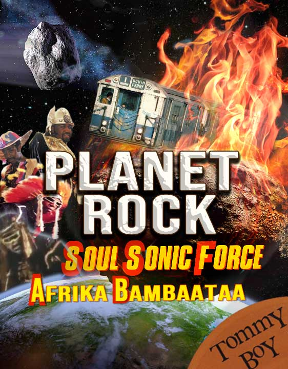 planet Rock creative fan art