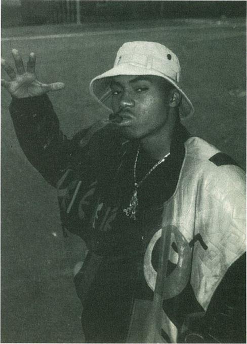 nas 90s hip hop fashion