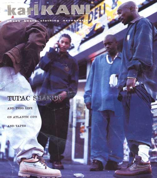 Tupac Fashion Icon 90s Hip Hop