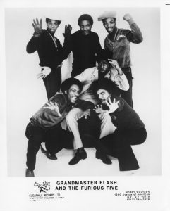 Grandmaster Flash and the Furious Five Promo Picture