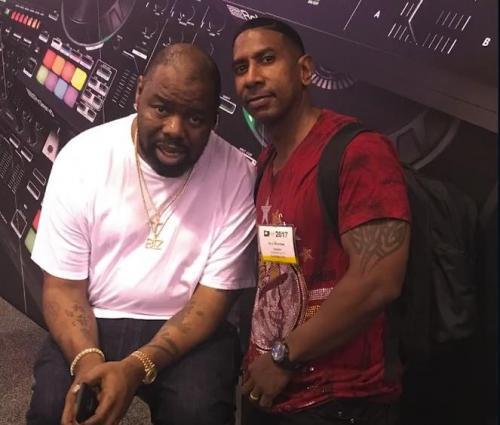 DJ ACE with BIZ Markee